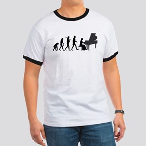 Piano Player Evolution T-Shirt