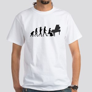 Piano Player Evolution T-Shirt