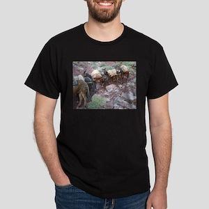 South Kiabab Grand Canyon Mule Ride Pack T T-Shirt