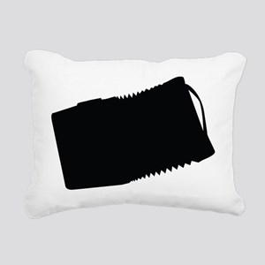 Accordion Rectangular Canvas Pillow
