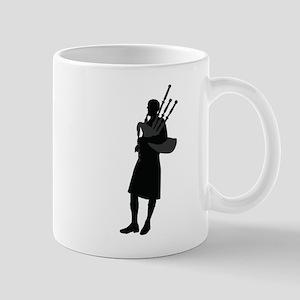 Bagpipe Player Mugs