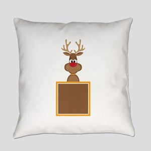 Rudolph Reindeer Everyday Pillow