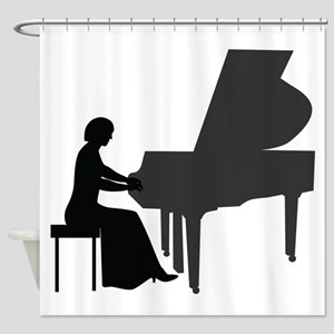Pianist Shower Curtain