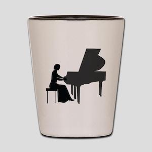 Pianist Shot Glass