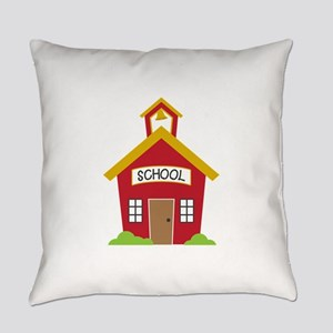 School House Everyday Pillow