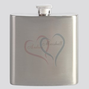 Twin Hearts to Personalize Flask