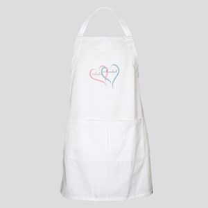 Twin Hearts to Personalize Apron