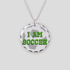 I Am Soccer Necklace