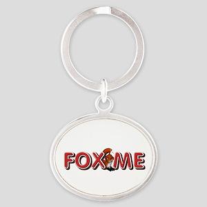 Fox Me Oval Keychain