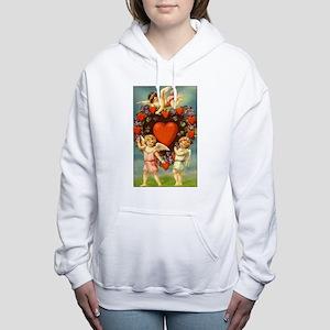 Vintage Valentine 3 Women's Hooded Sweatshirt