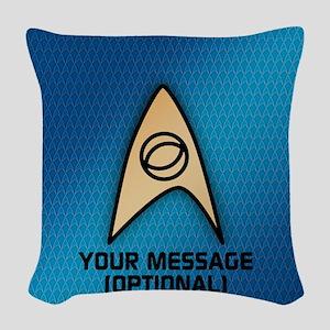 Star Trek Sciences Insignia Woven Throw Pillow