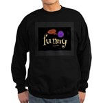 A Funny Thought Black Men's Sweatshirt (dark)