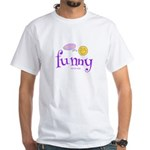 A Funny Thought Men's White T-Shirt