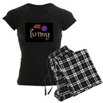 A Funny Thought Women's Dark Pajamas