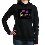 A Funny Thought Black Women's Hooded Sweatshir
