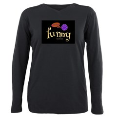 A Funny Thought Plus Size Long Sleeve Tee