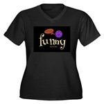 A Funny Thought Blackwomen's Plus Size T-Shirt