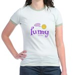 A Funny Thought Jr. Ringer T-Shirt