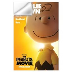 The Peanuts Movie: Charlie Brown Wall Art Wall Decal