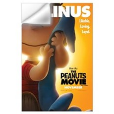 The Peanuts Movie: Linus Wall Art Wall Decal