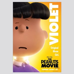 The Peanuts Movie: Violet Wall Art