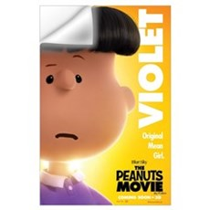 The Peanuts Movie: Violet Wall Art Wall Decal