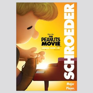 The Peanuts Movie: Schroeder Wall Art