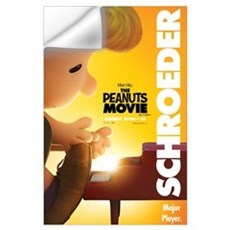 The Peanuts Movie: Schroeder Wall Art Wall Decal