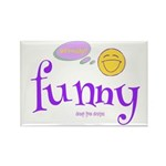 A Funny Thought Rectangle (10 Pack) Magnets