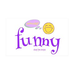 A Funny Thought Wall Decal