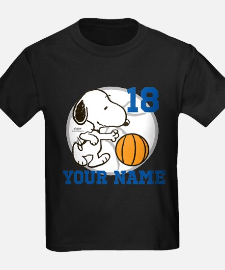 Snoopy Basketball - Personalized T