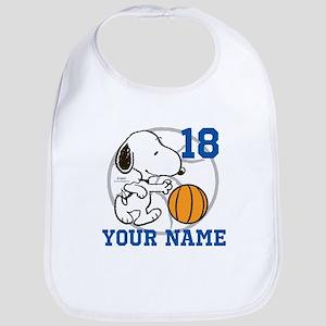 Snoopy Basketball - Personalized Bib