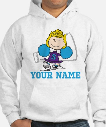 Snoopy Sally Cheer - Personalize Hoodie