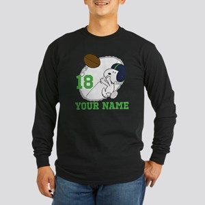 Snoopy Football - Persona Long Sleeve Dark T-Shirt