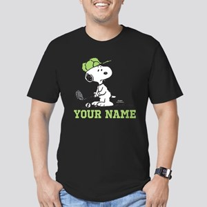 Snoopy Golf - Personal Men's Fitted T-Shirt (dark)