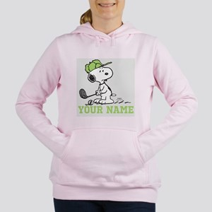 Snoopy Golf - Personaliz Women's Hooded Sweatshirt