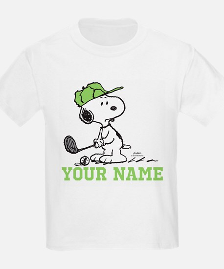 Snoopy Golf - Personalized T-Shirt