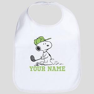 Snoopy Golf - Personalized Bib