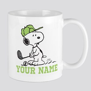 Snoopy Golf - Personalized Mug
