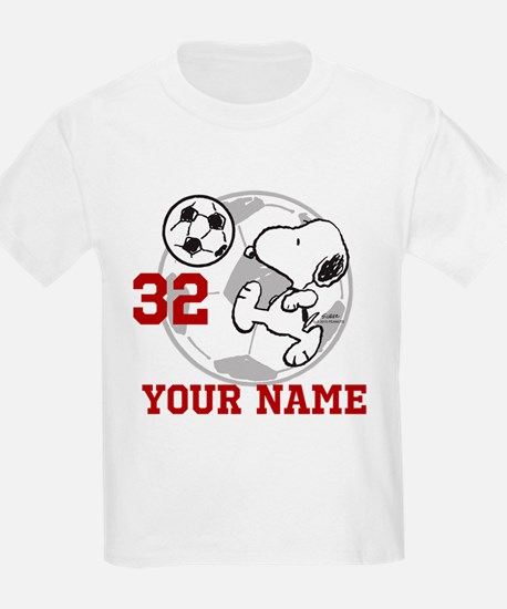 Snoopy Soccer - Personalized T-Shirt
