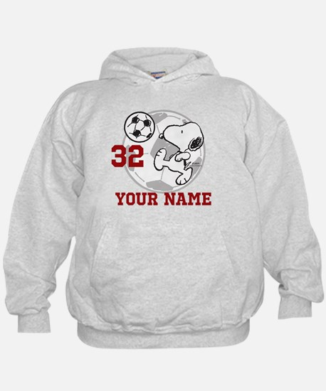 Snoopy Soccer - Personalized Hoody