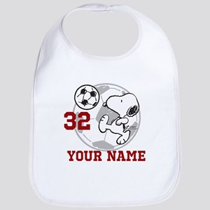 Snoopy Soccer - Personalized Bib