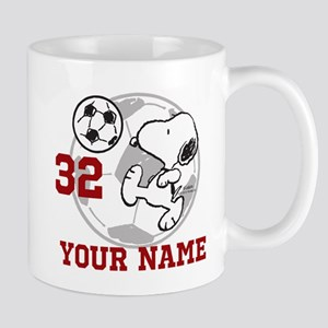 Snoopy Soccer - Personalized Mug