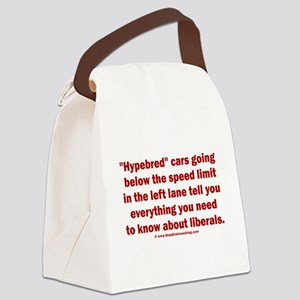 Hypebred Cars n Liberals Canvas Lunch Bag
