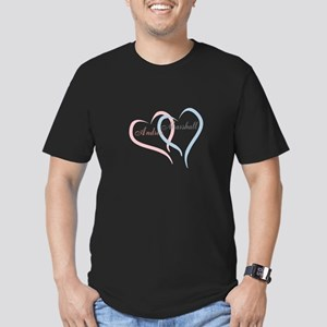 Twin Hearts to Personalize T-Shirt