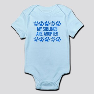 My Siblings Are Adopted Body Suit