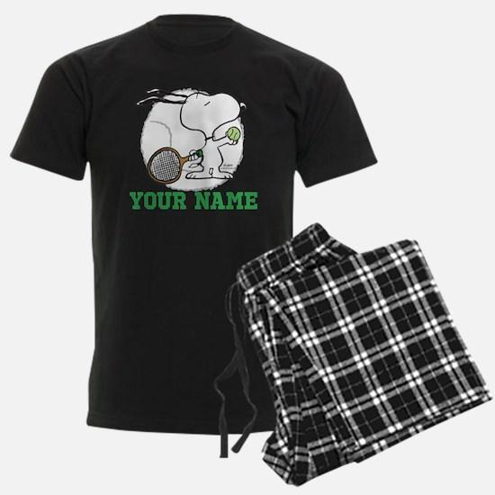 Snoopy Tennis - Personalized Pajamas