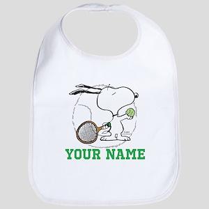 Snoopy Tennis - Personalized Bib