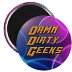 Damn Dirty Geeks Magnets