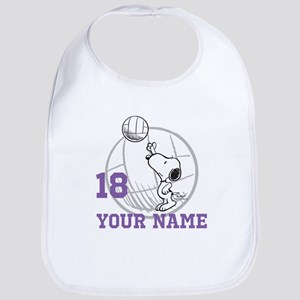 Snoopy Volleyball - Personalized Bib